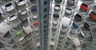 Autos Technology Vw Multi Storey Car Park Warehouse