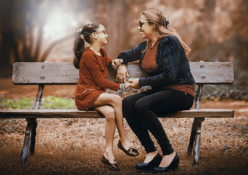 Mother And Daughter Adult Women Two Lifestyle